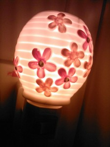 Floral Aroma Therapy Lamp